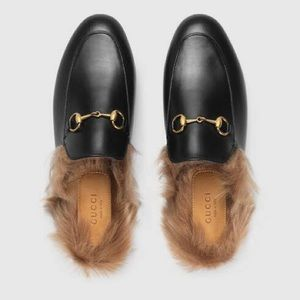 Size 40 Gucci loafers